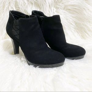 Unlisted black ankle boots